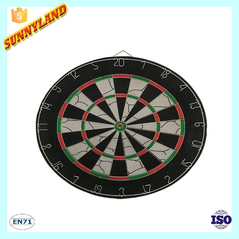 Flocking Magnetic Dartboard Darts Suit Double-sided Darts Board Plate , Wholesale