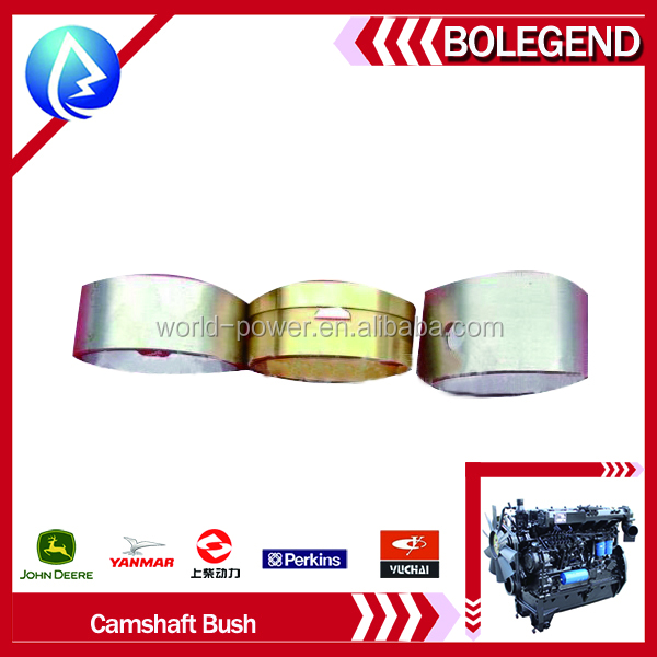 durable made in china good price and quality diesel engine spare parts yunnei 4100QB camshaft bushing agricultural machine