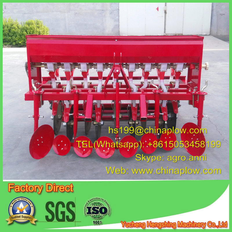 Agricultural 9 lines wheat planter wheat seed drill hot sale