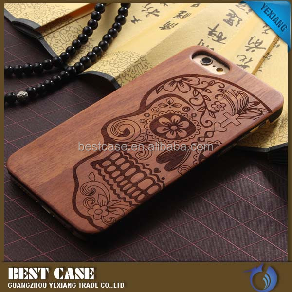 Mobile Accessories Laser engraved custom real wood phone case for iphone 5s 5se wooden phone cover