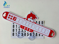Environmental Factory Direct Logo Custom Plastic Number Tag For Car Use