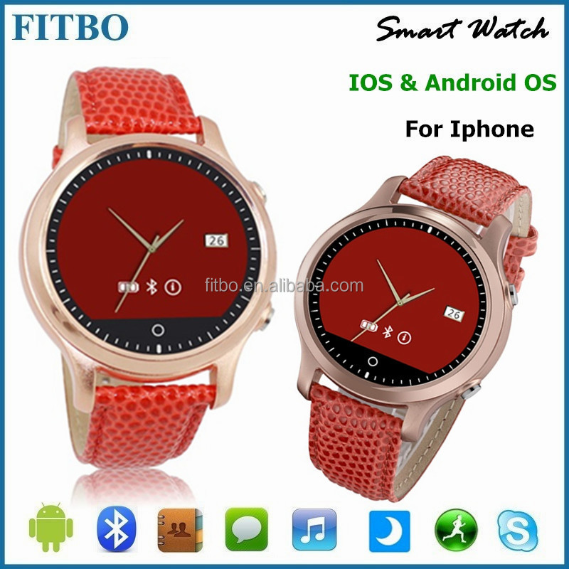 Slims Leather/ IOS/Android mobile watch phone 3g for galaxy c5000 xiaomi 5 VIVO Xplay 6