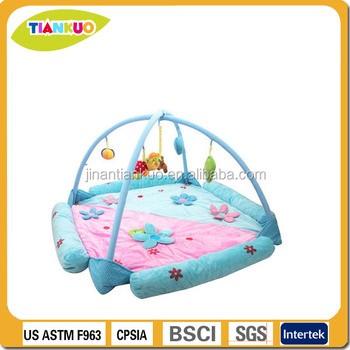 Best selling folded baby play mat with sides