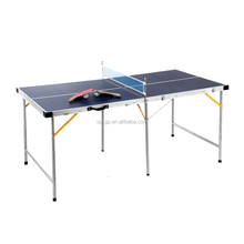 Foldable & portable small size table tennis table