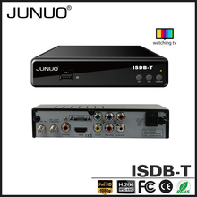 JUNUO OEM free to air strong signal reception HD mstar Chile digital set top box receiver for digital tv