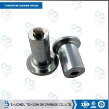 carbide tyre stud with aluminum from Zhuzhou factory