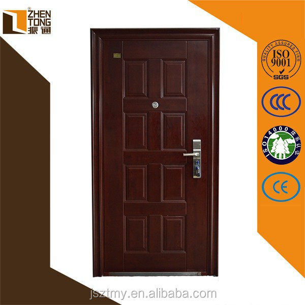 Cheap wholesale 2015 stainless steel fire rated door,steel apartment building entry doors