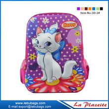 Factory wholesale kids cartoon 3D EVA picture of school bag