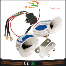 Metal shell 12v 24v auto horn loud speaker for atv, suv