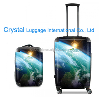2016 4 Wheels Trolley Bag with Fashion Design and High Quality Trolley Luggage