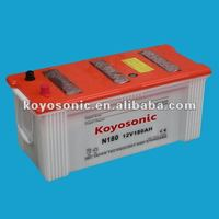 12v 180ah Heavy Duty Truck batteries Dry Battery
