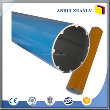 China Manufacturer thin wall aluminum pipe hollow
