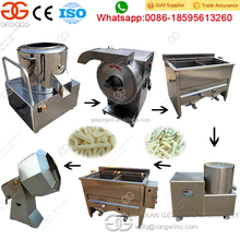 Small Scale Semi Auto French Fries Production Line Frozen French Fries Production Line