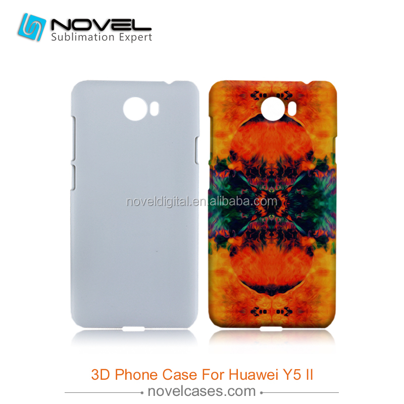 Hot Sale 3D Sublimation Phone Case Cover for Huawei Y5 II, DIY Phone Case Cover