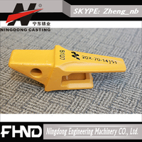 construction machinery parts, Lost wax casting heavy equipment parts, excavator spare parts