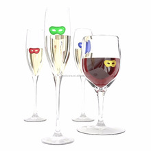"Silicone Wine Tasting Charms for Glasses ""50 Shades"" Style (12 Charms in each Pack)"