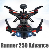 Latest DIY flying camera helicopter Runner 250 advance FPV GPS direction warning lamp