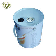 3 liter Metal barrel,plastic handle