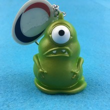 New design custom 3d pvc keychain, vinyl keychain toy for sale