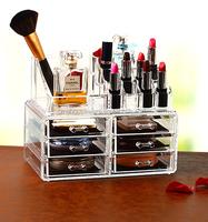 Beauty Acrylic cosmetic display /makeup organizer