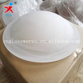 UFO plate alabaster centrifugal cloudy glass lampshade