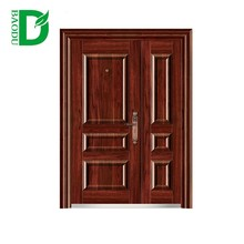 Baodu brand new style security door cheap exterior fire rated used commercial steel doors