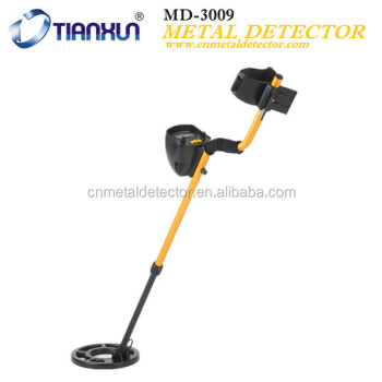 Hot selling and cheap MD-3009II underground gold metal detector