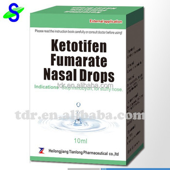 Nasal Drops for stuffy nose, rhinitis, especially for rhinallergosis