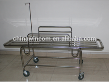WN211 Medical Stainless Steel Surgical Pateint Transfer Stretcher