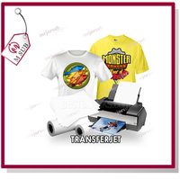 inkjet/laser press a3 size heat transfer paper for personalized printing