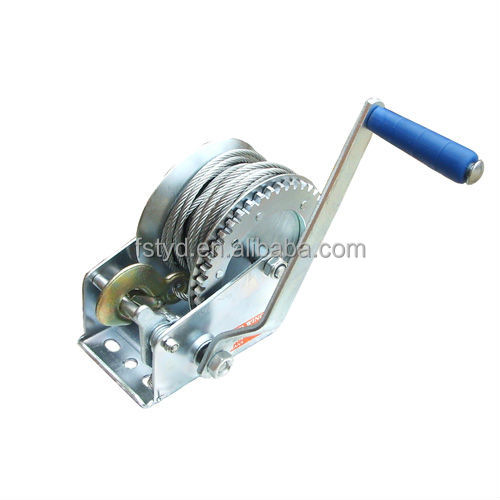 Foshan Hand winch wholesale boat trailer hydraulic anchor marine winch