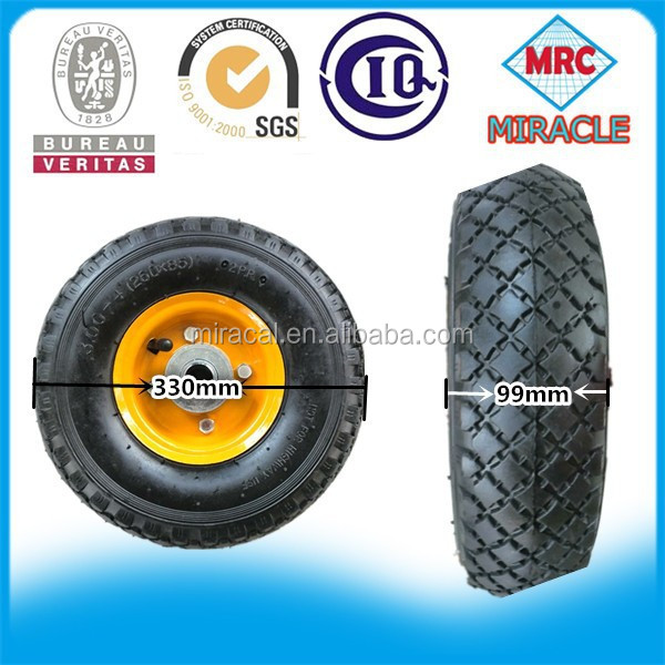 made in china 7 inch rubber wheel
