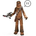 Hot movie character Chewbacca Talking action Figures/Customized monster talking action figure/oem electronic talking figures
