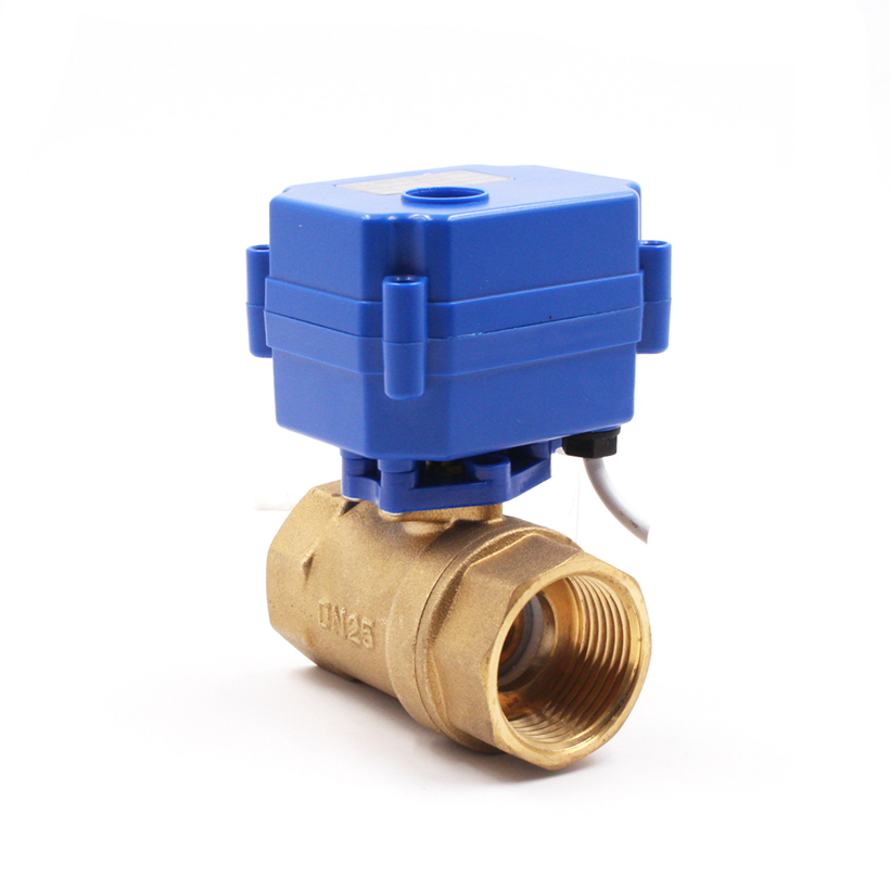 Discount 1 Inch Auto 2Way Water Motorized Washer 5V 6V DC AC Motor Electric Compressor Automatic Mini Drain Ball <strong>Valve</strong>