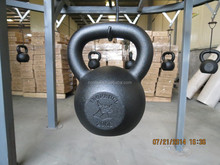 Gravity Cast Iron Kettlebell with power coated