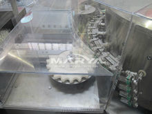 Glass vial ampoule washing drying filling sealing production machine