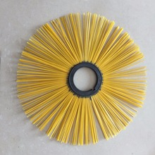 Plastic Ring Road Or Snow Cleaning Rotary Brush Road Wafer Brush