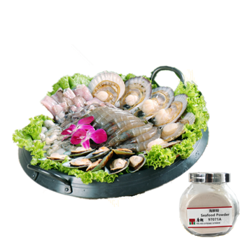 SEAFOOD EXTRACT POWDER seasoning,powder package of instant noodle and other compound seasoning.