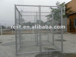 welded steel wire mesh cage for big pets