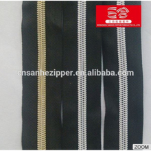 New arrival roll /longchain Eco-Friendly, Nickel free clothing nylon zippers bottom stop With Good After-sale Service