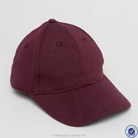 bulk buy from china baseball hats for men adjustable strape burgundy custom hats