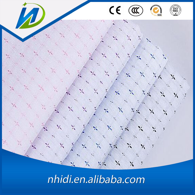 Textile factory price printed silver bamboo fabric for shirt