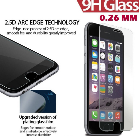 tempered glass new screen protector for iphone 7 plus screen protector