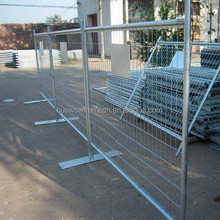 Hot Dipped Galvanzied Temporary Construction Mobile Guard Fence