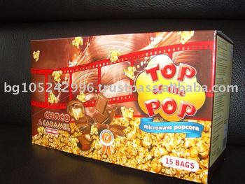 Display box (15 pcs) - Choco and caramel