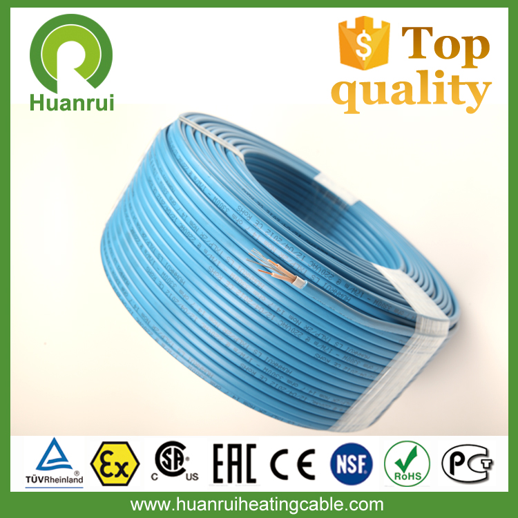 Under Tile Temperature Maintenance MSR Underfloor Pipe Heating Cable 220V