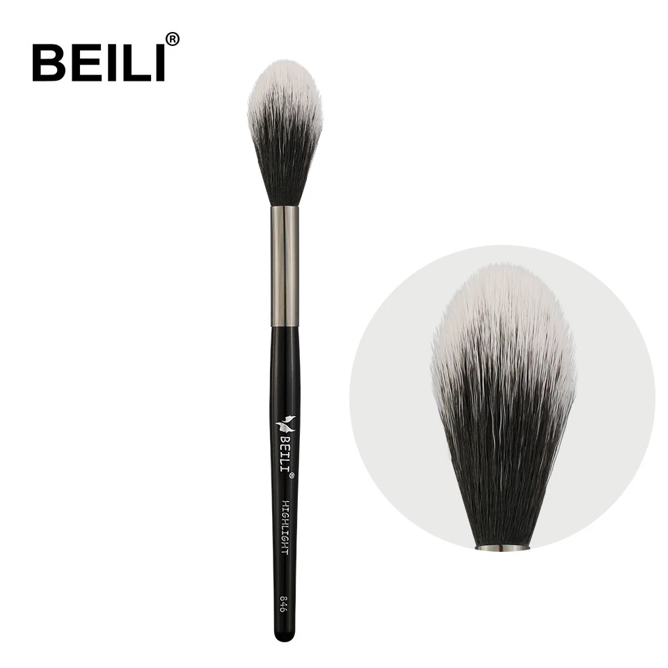 BEILI 1 PIECE Synthetic Hair Highlight Single Makeup <strong>Brushes</strong> 846#