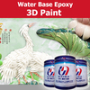 Water based 3D epoxy paint for background wall floor ceramics