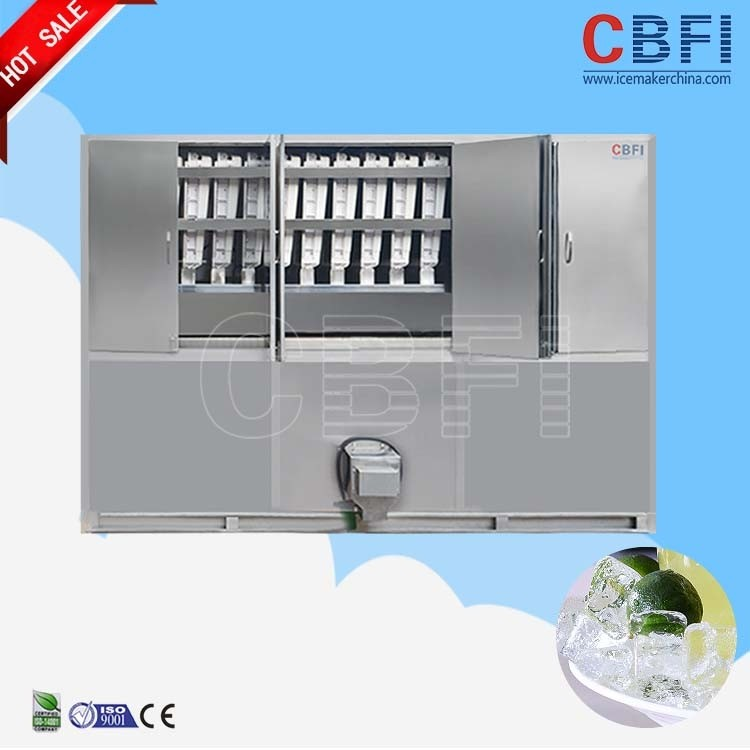 China CBFI ice cube maker machine factory 3ton for ice plant