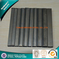 chinese supplier manufacturing mild steel rectangular tube in tianjin china